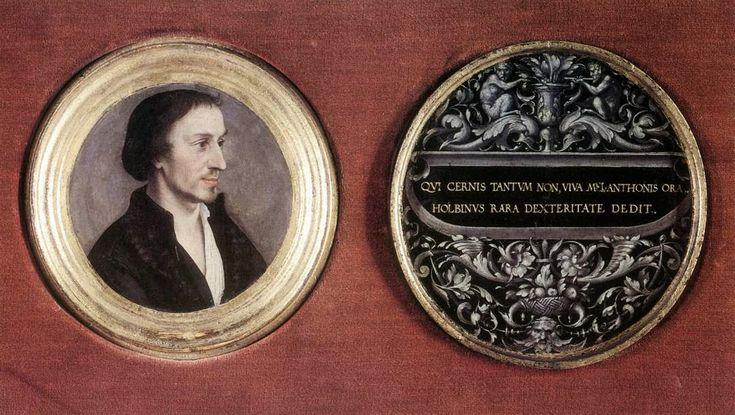 Πορτρέτο του θρησκευτικού μεταρρυθμιστή Φιλίππου Μελάγχθων (1535) Μινιατούρα