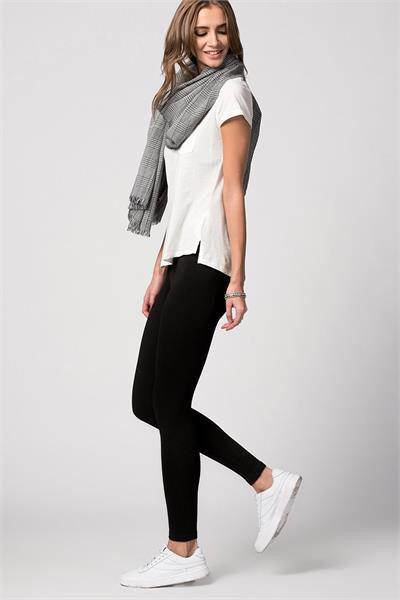 BELİ LASTİKLİ TAYT PANTOLON www.fashionturca.com