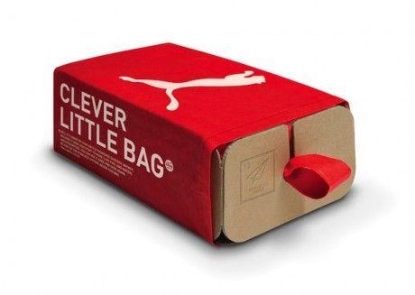 Packaging Sostenible : Puma