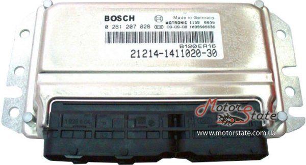 Блок управления двигателем ЭБУ Bosch 21214-1411020-30 M7.9.7+ ВАЗ Нива