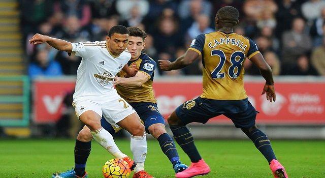 3 Pemain Kunci di Laga Arsenal vs Swansea (Liga Inggris)