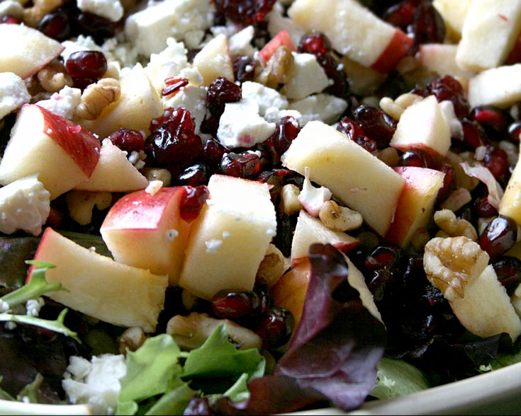 Pomegranate and Walnut winter-salad | Salads, Fresh Veggies & Fruit ...