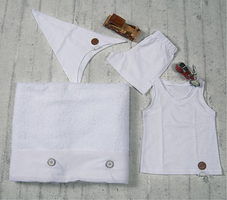 Pouch Boy's Christening Set ~ by Lina Baby | www.linababy.gr | #ladopana #baptismal
