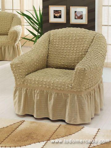 Las 25 mejores ideas sobre fundas para sillones en pinterest y m s fundas sillas forros para - Fundas elasticas para sillones ...