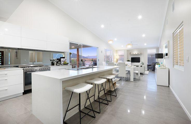 Floor tiles - GJ Gardner display home