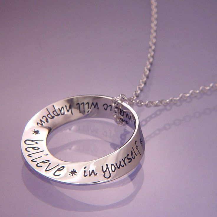 Love Love Love this necklace.  Believe in your and magic will happen! $54.96