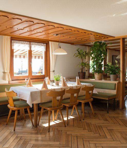 Restaurant © Hotel Kreuz Bildstein