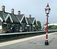 Appleby Station in Cumbria on the Settle-Carlisle railway, one of the most scenic train routes in the uk