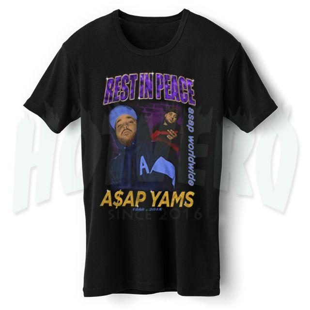 Asap Yams Tribute Hip Hop Legend T Shirt //Price: $14.00//     #cheapurbanclothing