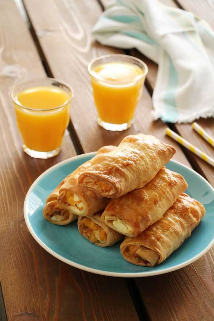 The one with all the tastes   Ρολάκια με αυγά, μπέικον και τυρί κρέμα