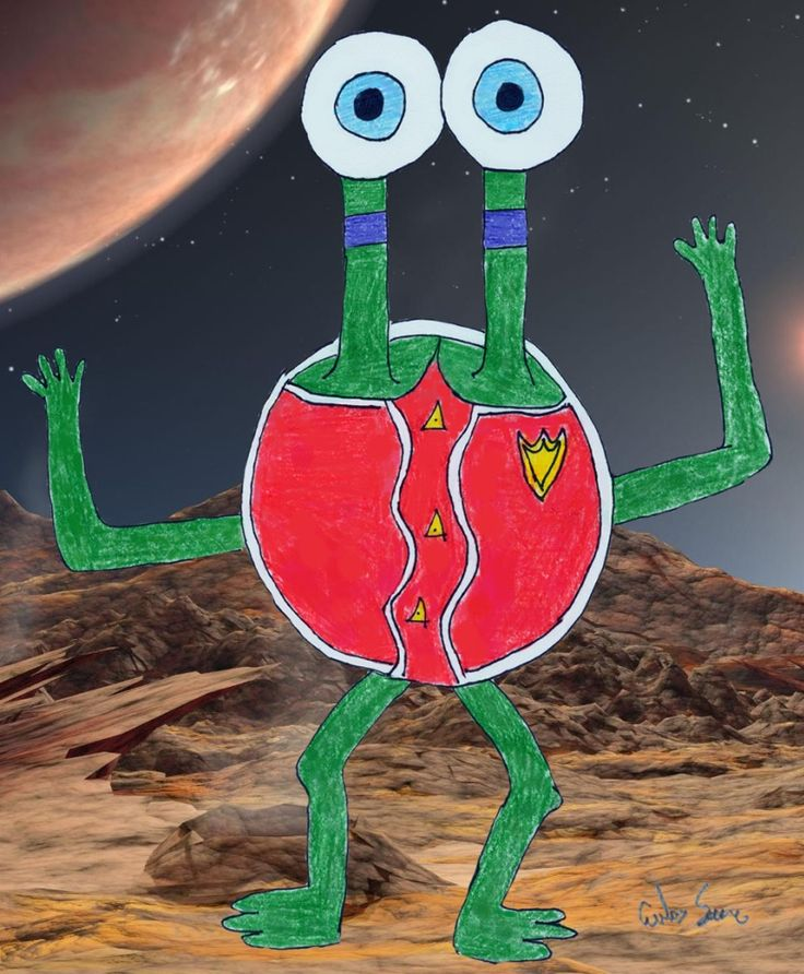 Cool Alien Drawings | Free Pictures for Websites ...