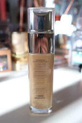 Makeup in Manila: L'Oreal True Match Foundation in Gold Beige
