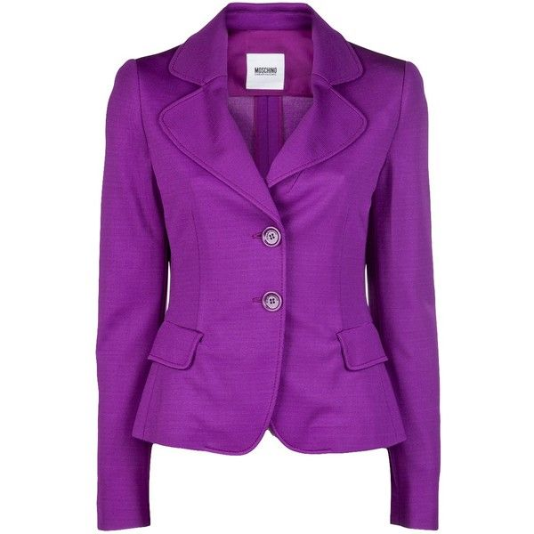 MOSCHINO CHEAP & CHIC Lightweight blazer by None, via Polyvore