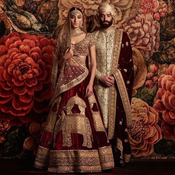Though many women around the world do choose a white dress and you will often see men in tuxes, traditionally, wedding clothing has looked much different throughout history and across the globe.