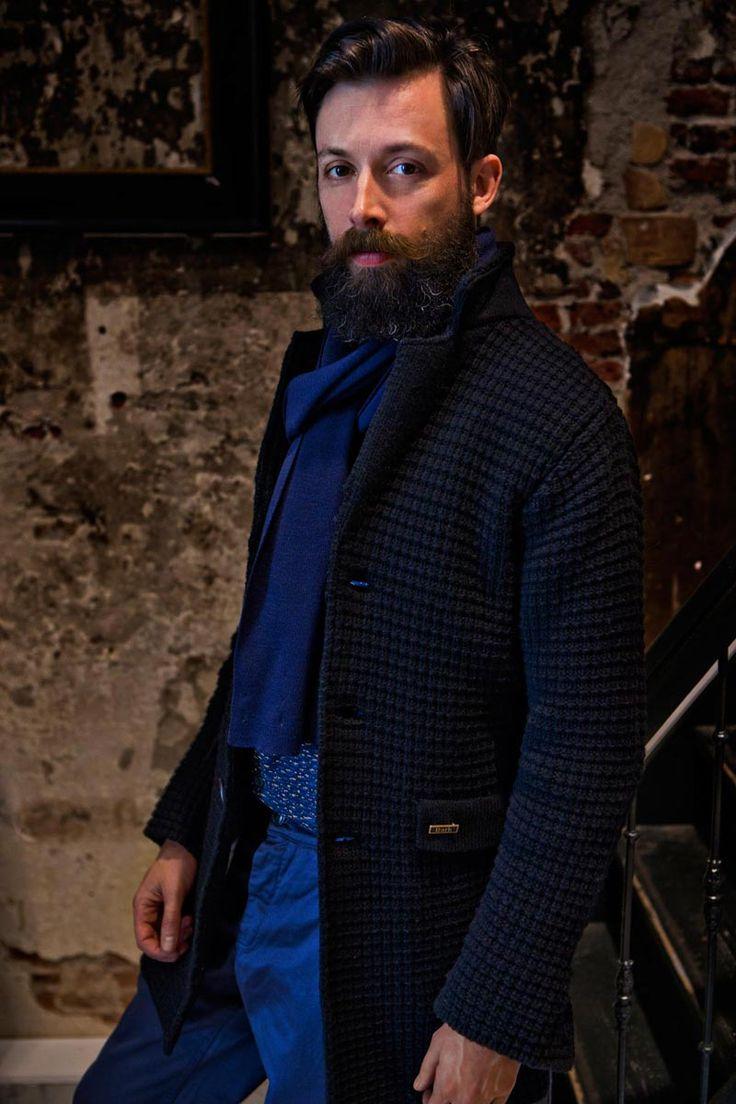 MAN COLLECTION F/W 14-15 | Bark™ - wool coat