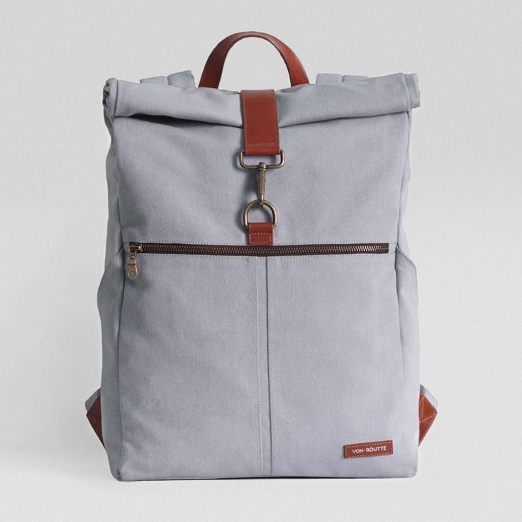 Sousse Canvas Backpack - Grey