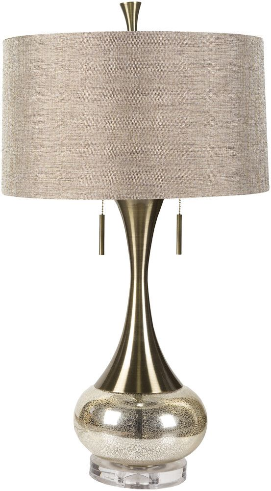 Mercury glass table lamp more at fosterginger pinterest