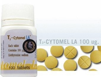 CYTOMEL T3 Liothyronine LA Pharma 100mcg tablets(Uni Pharma) Email to a Friend Be the first to review this product Availability: In stock  Regular Price: $99.00 Special Price: $89.10 Qty: ADD TO CART OR Add to Wishlist Add to Compare Quick Overview CYTOMEL T3 Liothyronine (LA Pharma 100mcg tablets)(Uni Pharma)
