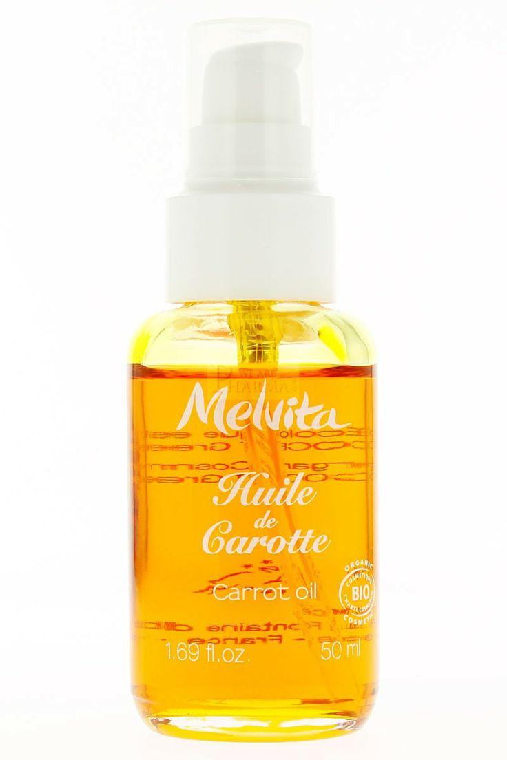 l'huile de carotte Melvita
