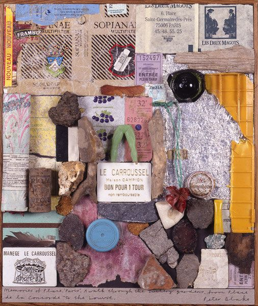 Peter Blake - Memories of Place - Paris