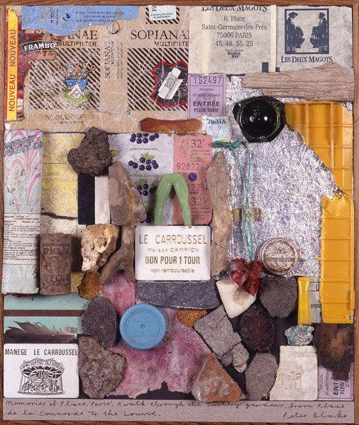 Peter Blake - Memories of Place - Paris