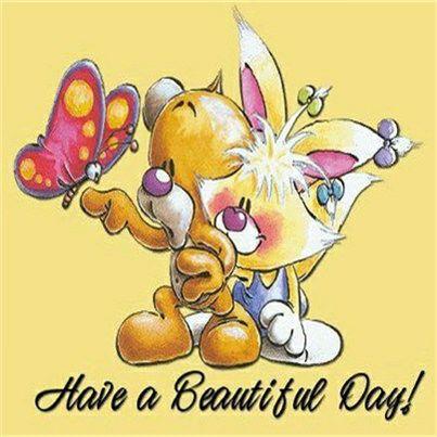 Schönen Guten Morgen Und Einen Schönen Tag