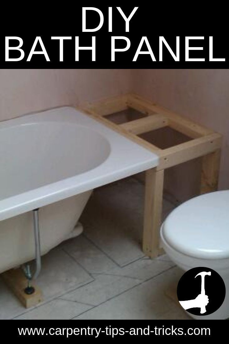 How To Make The Frame Accessible Wooden Bath Panel Either Plain Tongue And Grooved Shaker Style Or With Beaded Panels Holzbadewanne Badewanne Umbauen Wanne