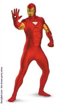 Iron Man Bodysuit Adult Costume. Only $39.55!