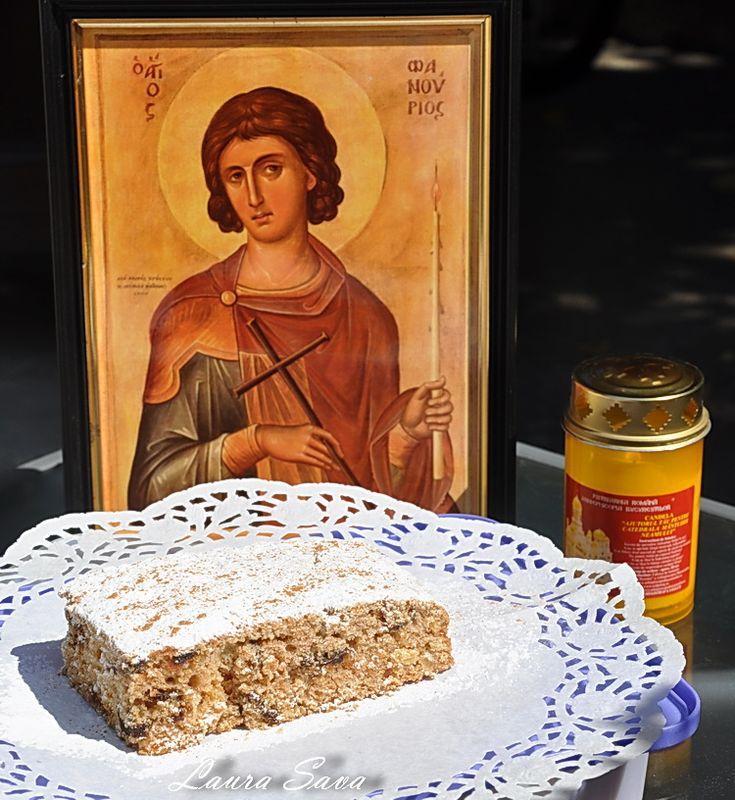 Fanouropita, prajitura Sfantului Fanurie, este o prajitura-ofranda, o prajitura preparata in scop religios, in amintirea mamei Sfantului Fanurie, asa cum va spuneam si aici: Fanuropita. Anul asta am reusit s-o coc in 26 august, asa cum trebuia, iar in 27 august, de ziua sfantului, am dus-o la biserica pentru a fi sfintita. De atunci insa, am lipsit si de acasa si de langa voi, pentru ca m-am operat (din nou) de endometrioza. Momentan, nu pot vorbi deloc despre asta...si, de fapt, nici nu e…