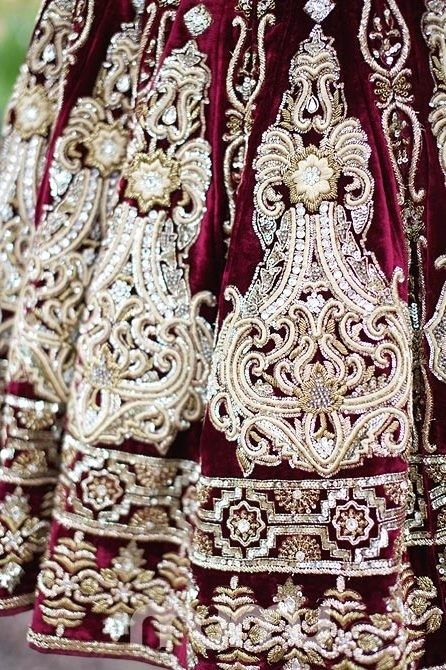 beautiful lehenga pattern