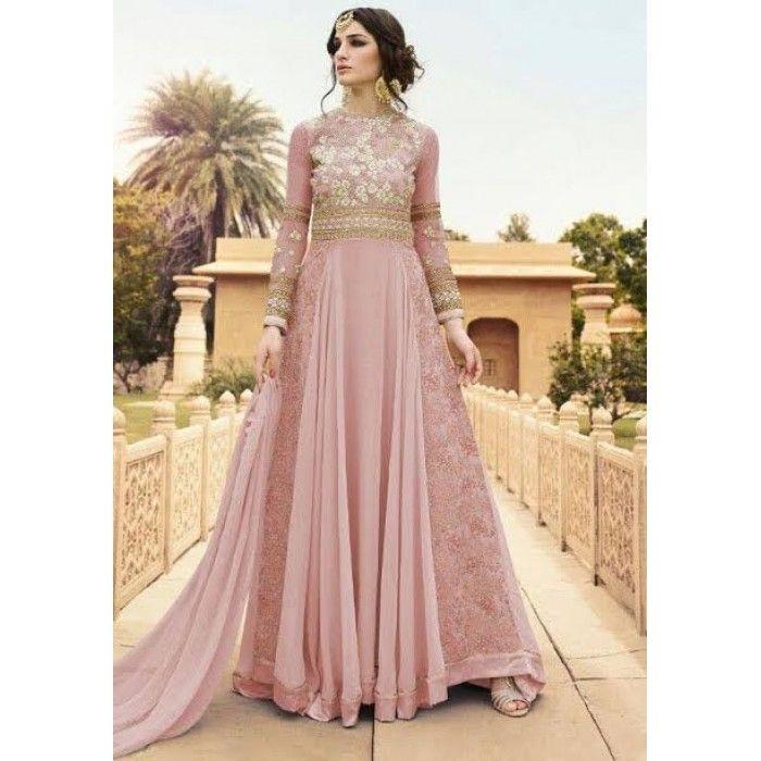 Dusty Pink Salwar Kameez