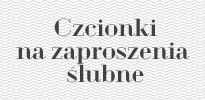 Polskie Czcionki | Fonty z polskimi znakami Najlepsze czcionki na zaproszenia ślubne. Polskie czcionki ozdobne. | Zbiór darmowych czcionek z...