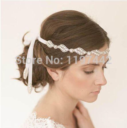 Настоящее ободки перо романтические свадебные аксессуары бесплатная доставка игристых люкс повязка на голову аксессуар пром H91