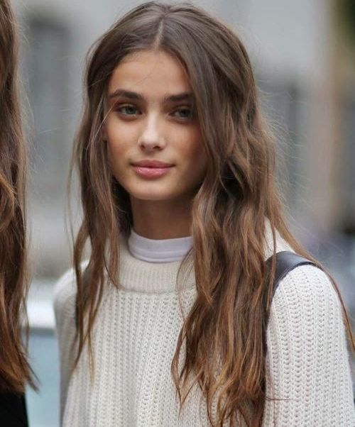 Charming Long Casual Hairstyles 2015