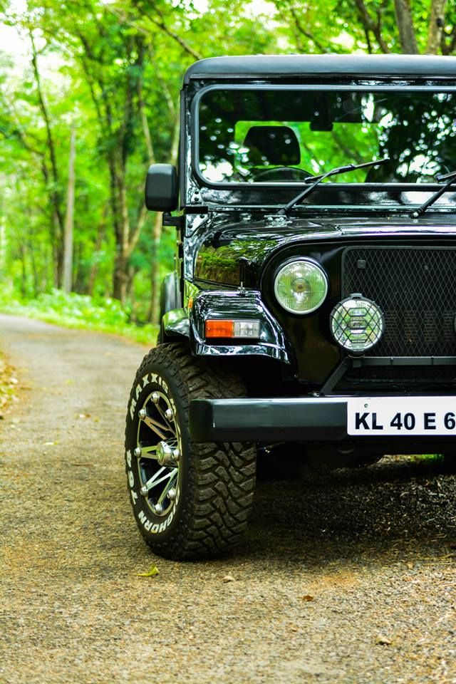 Road trips have to start somewhere.. Mahindra thar