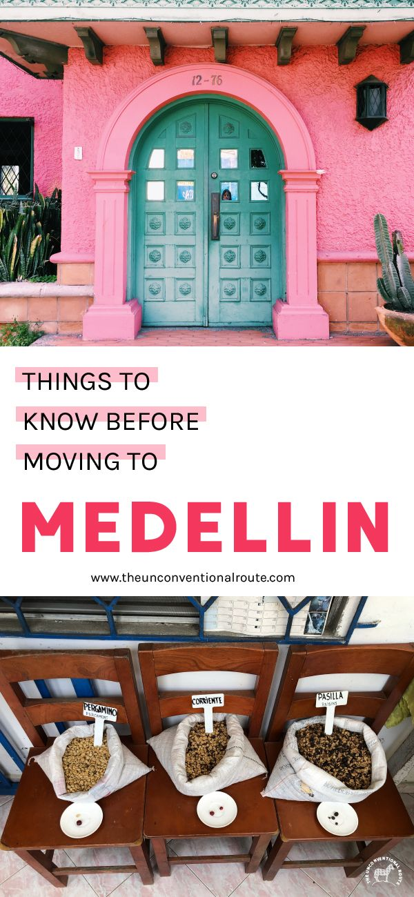 Things to know before visiting Medellin. Like where to shop, what to bring and what to expect. More on www.theunconventionalroute.com #medellin #movingtomedellin #medellinexpats #backpackingmedellin #medellincityguide #colombiatravel #backpackingincolombia