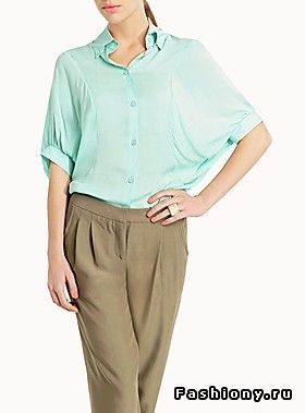 Мятный тренд / мятный цвет одежды