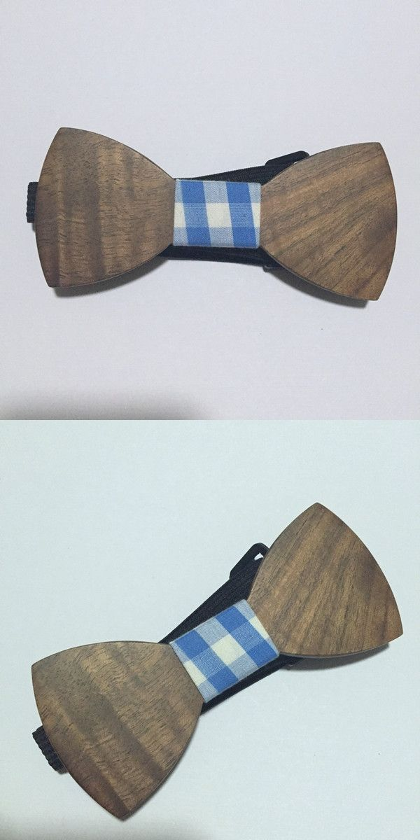 Vintage Men's Bow Tie Wholesale Handmade Wooden Bow Tie for Suit Cheap Bow Tie Personality Beard Wood bow-tie new style 122417