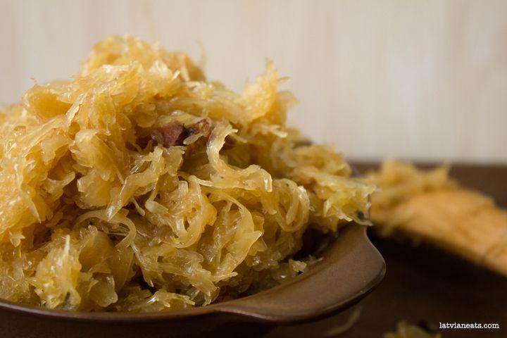 Sauteed Sauerkraut   Latvian Eats