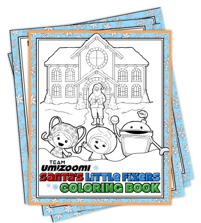free team umizoomi christmas coloring pages - Team Umizoomi Coloring Pages