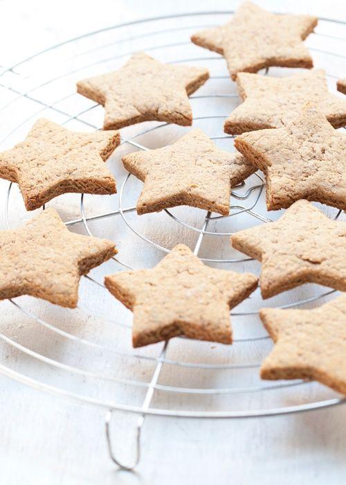 Christmas | Xmas | Jul | Noël. DIY: Baked. Star Cookies.