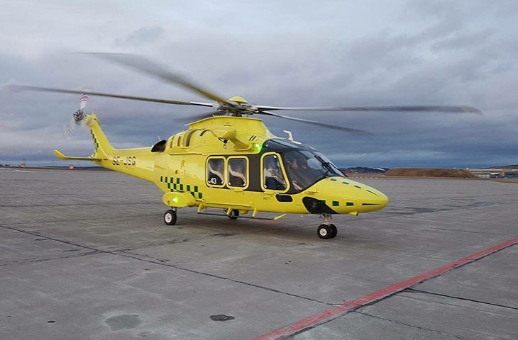 Scandinavian Air Ambulance Receives First of Four AW169's - Heliweb Magazine