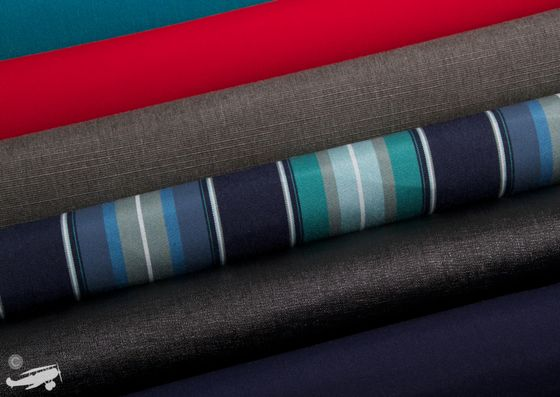 So many options to choose from when customizing your own Vesper Faering Sidecar toiletry bag! Turquoise, Red, Grey, Celeste Stripes, and Navy are just some of the colours shown here! #travel #travelaccessories #travelhacks #traveltips #style #fashion #holiday