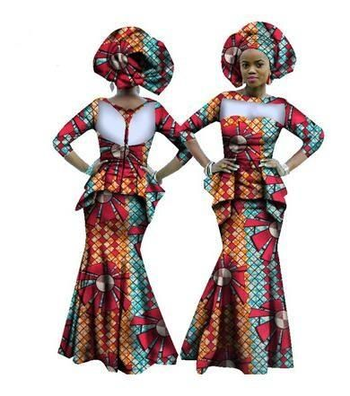 New Robe Africaine Time-limited Hot Sale Cotton African Traditional Dresses  African Print Dress Elegant Women Clothing