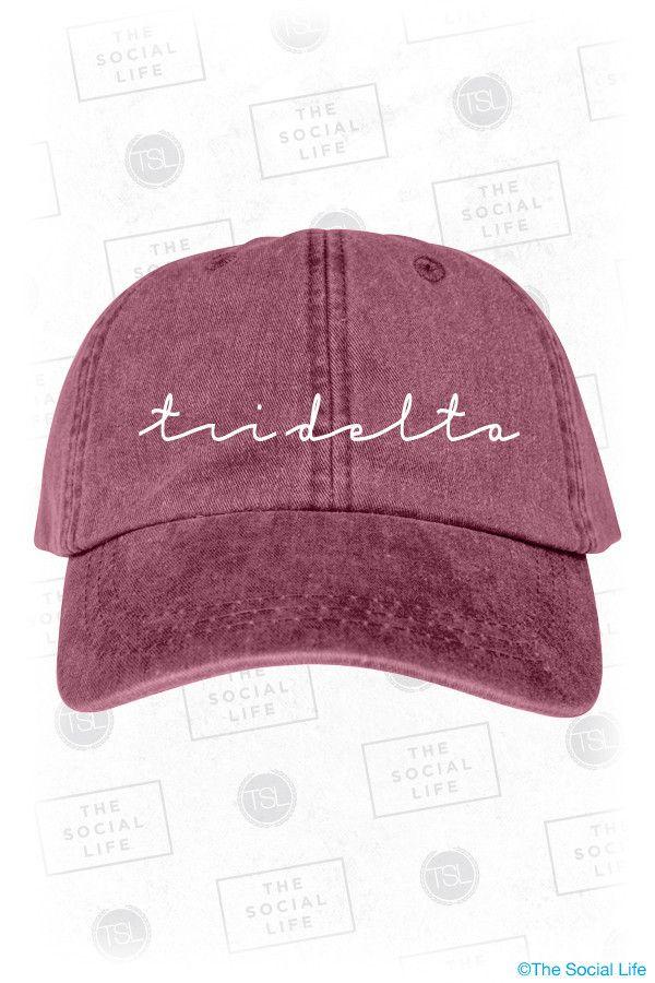 Tri Delta Vintage Hat
