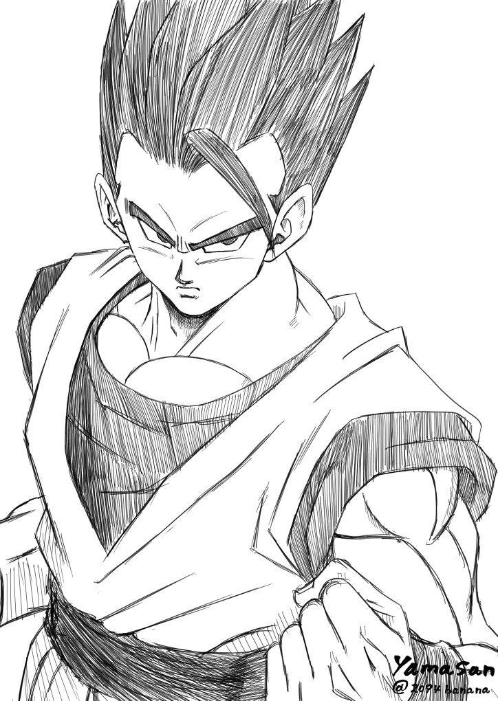 Dessin son gohan yamasan 2094banana twitch dragon - Dessin manga dragon ball z ...