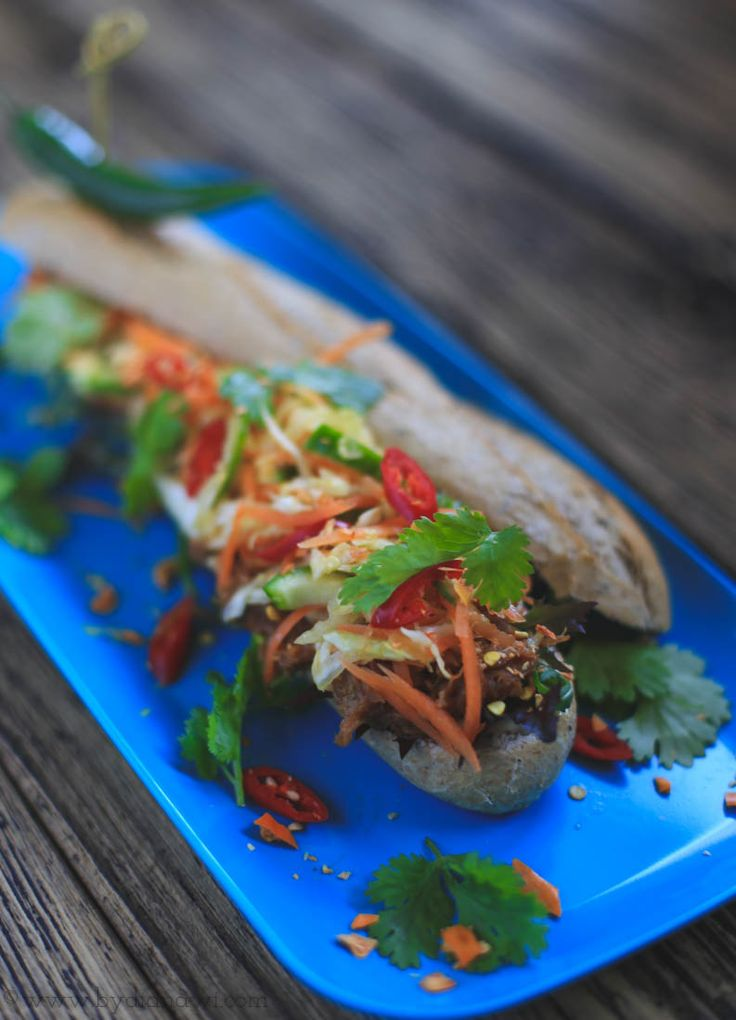 Banh Mi sandwich opskrift