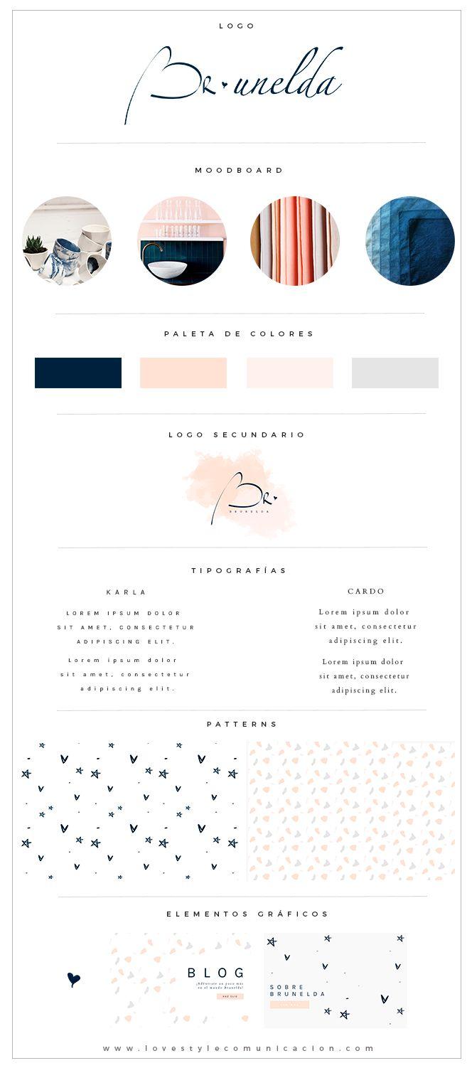 Identidad visual y Diseño Tienda online para Brunelda | Lovestyle Comunicacion