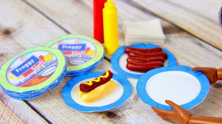 My Froggy Stuff Dollhouse Paper Plates Maker And