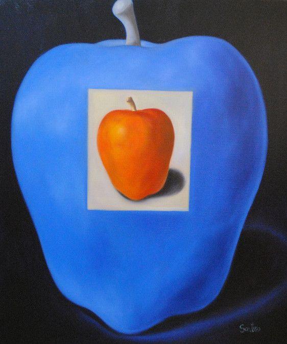 Mother Apple  36x42 - Carmelo Sortino